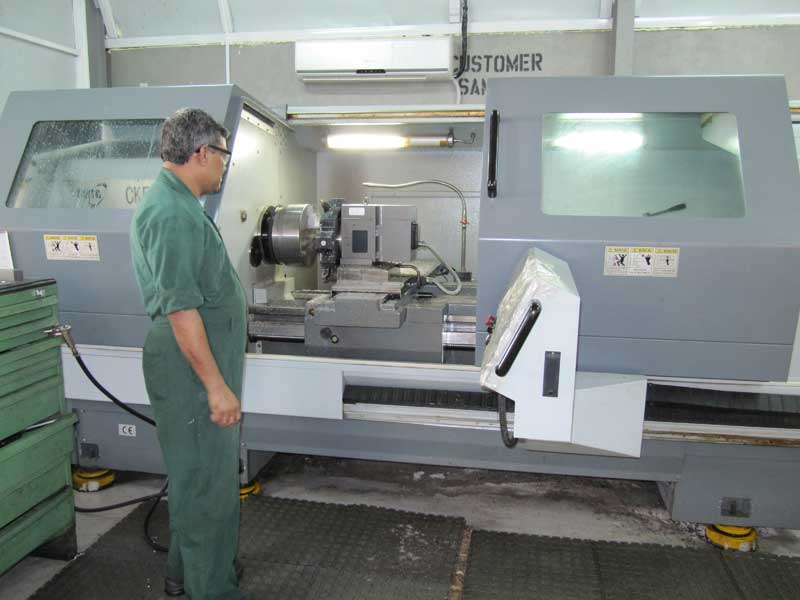 cnc machine shop work